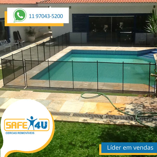 cerca para piscina safe for you